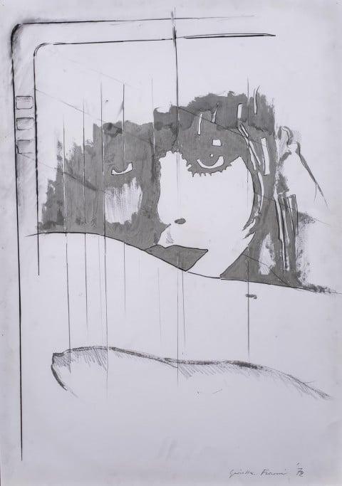 Fioroni Giosetta, Ritorno liberty, 1972, cm100x70