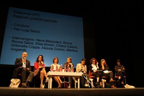 Forum dell'arte contemporanea italiana, Prato 2015 - assempblea plenaria tavoli 'Rapporto pubblico-privato - photo Nicol Claroni