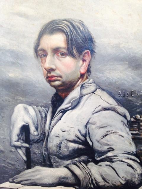 Giorgio de Chirico, Autoritratto, 1924-25