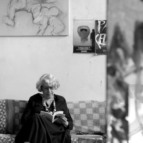 Giosetta Fioroni - photo Enrico Minasso