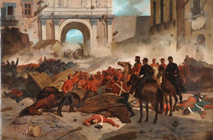 Giovanni Fattori, Garibaldi a Palermo, 1860-61 – Collezione privata, courtesy Società di Belle Arti, Viareggio
