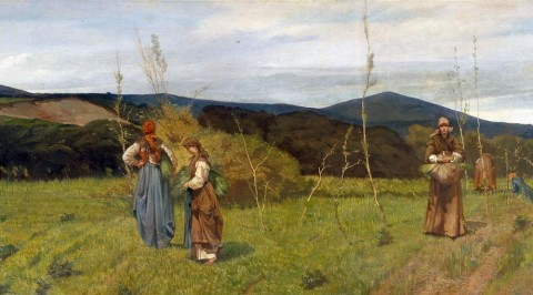 Giovanni Fattori, Le macchiaiole. Adiacenze livornesi presso Antignano, 1866 ca. – Livorno, Collezione privata
