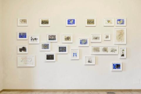 Giuseppe Gallo, Piccoli pensieri, 2014-15 - photo Ottavio Celestino