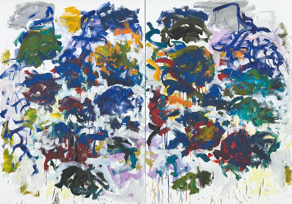Dipinti Murali E Pittura Ad Ago : La pittura di joan mitchell in mostra a colonia artribune