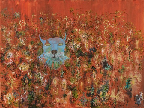 John Lurie, Decaying Blue Lynx Head