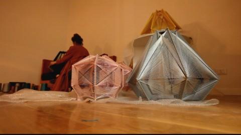 Julie Lansom, Glint Sputnik Collection, 2015 – work in progress – photo Pasquale Palmieri