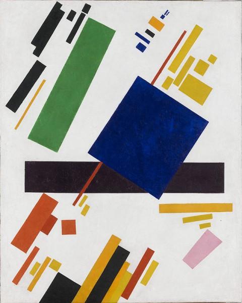 Kazimir Malevich, Suprematist Composition, 1916 - Amsterdam, Stedelijk Museum