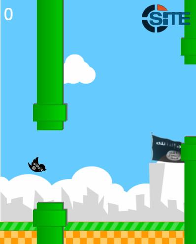 La versione jihadista di Flappy Bird