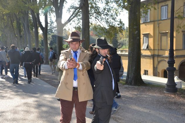 Lucca Comics & Games 2015 - Cosplayers. Jigen e Zenigata