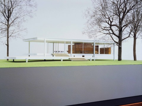 Ludwig Mies van der Rohe, Farnsworth House, Plano, Illinois, 1945-51 - The Museum of Modern Art, New York