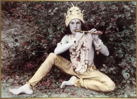 Luigi Ontani, Krishna, 1978 - collezione privata - courtesy Archivio L'Attico