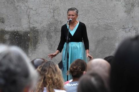 Mariangela Gualtieri - Voltrerrateatro 2015 - photo Stefano Vaia