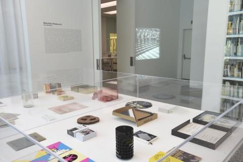 Maurizio Nannucci - Top Hundred - veduta della mostra presso Museion, Bolzano 2015