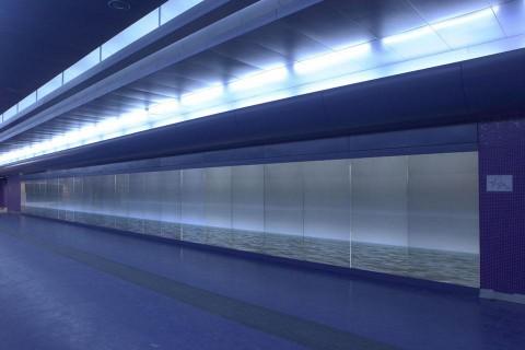 Metropolitana di Napoli, stazione Toledo - l'installazione di Bob Wilson