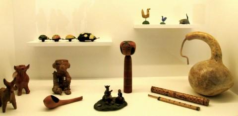 Miró y el objecto - veduta della mostra presso la Fundació Joan Miró, Barcellona 2015
