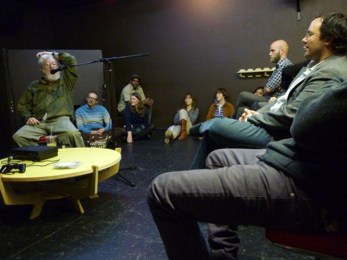 Mountain School of Arts - una lecture di Dan Graham nel 2010