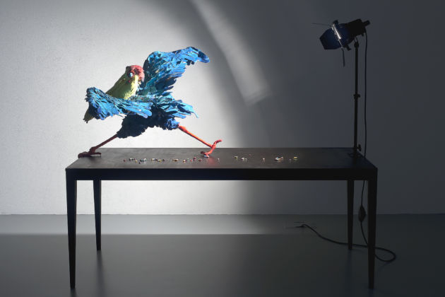 Nathalie Djurberg, A Thief Caught in the Act (Blue Pelican)