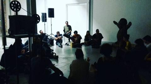 OUT44 incontra Martina Angelotti Vittorio Corsini e gli studenti di scultura dell'Accademia di Brera a Careof