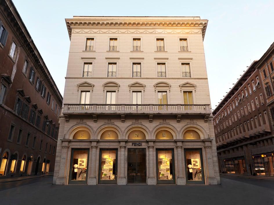 Palazzo Fendi Nuova Casa Della Maison Romana Artribune