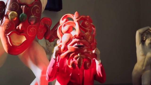 Pappi Corsicato, Maschere Sonanti, documentario su Luigi Ontani - Museo Andersen, Roma 2012 - still