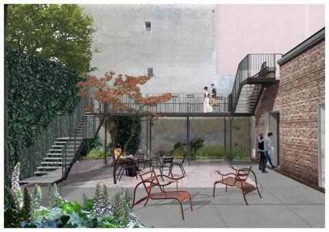 Piscine Caimi, Milano - Il giardino minerale - (c) Laboratorio Permanente