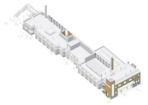 Piscine Caimi, Milano - La palazzina - (c) Laboratorio Permanente