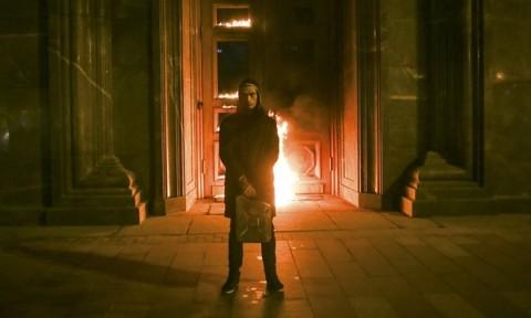Pyotr Pavlensky, l'azione dinanzi al FSB