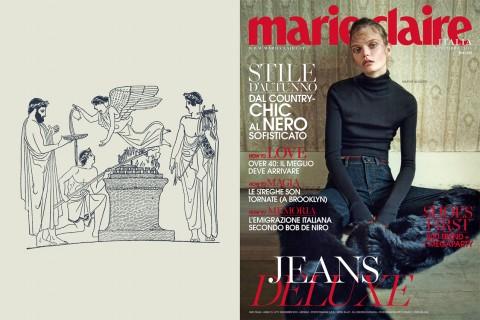 Roberto Ago, La moda, il sacro e l'icona anoressica #3