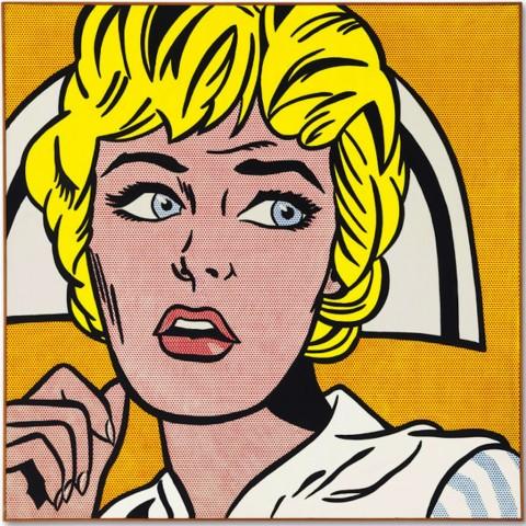 Roy Lichtenstein, The nurse