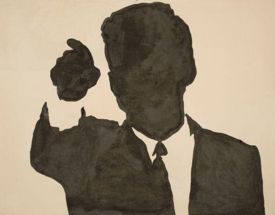 Sergio Lombardo, J. F. Kennedy dalla serie Gesti tipici, 1963 - collezione privata