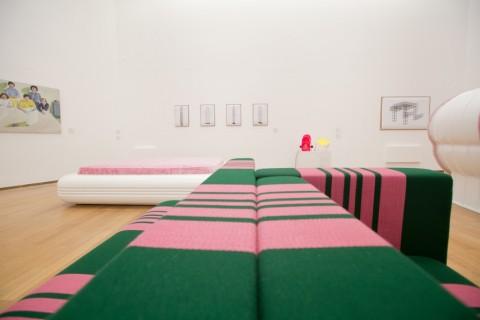 Super Superstudio - veduta della mostra presso il PAC, Milano 2015 - photo Nico Covre, Vulcano