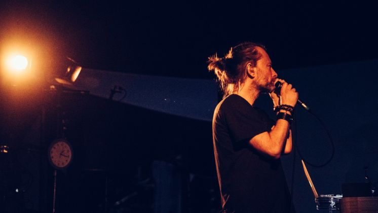 Thom Yorke - photo Sean Evans @deadskinboy