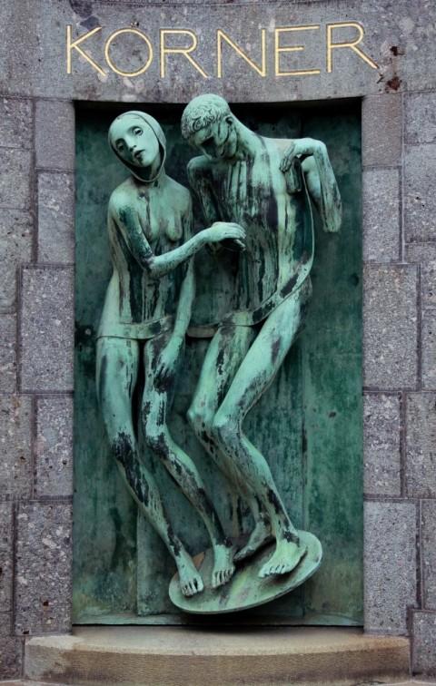 Adolfo Wildt, Et Ultra (Monumento Körner), 1929 - Milano, Cimitero Monumentale - photo Enrica Zingarelli