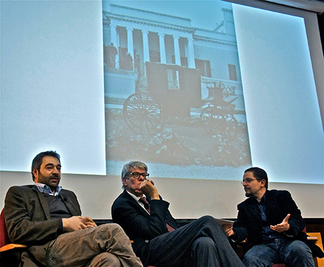 Alberto Dambruosio, Pio Monti e Guglielmo Gigliotti - I martedi critici, 15 aprile 2014