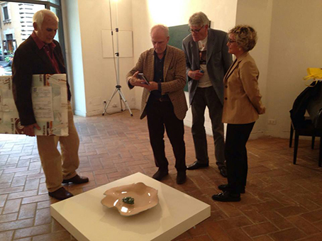 Aldo Ponis, Massimo Minini, Pio Monti e Teresa Iaria, 2015