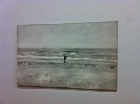 Anselm Kiefer - veduta della mostra presso il Centre Pompidou, Parigi 2015 - photo Gian Maria Tosatti