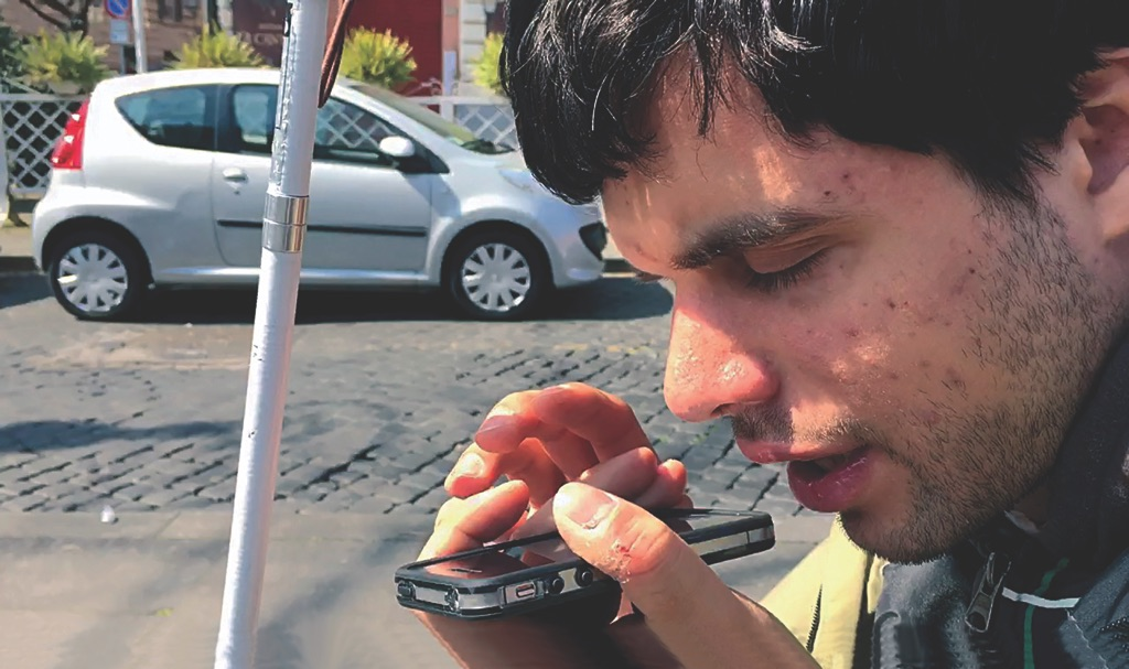Antoni Abad, Blind Wiki - Roma, Marco Serranti