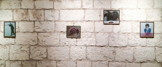 Beppe Biagi - Appunti di ordinaria umanità - veduta della mostra presso il Museo Nuova Era, Bari 2015