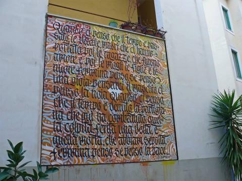 Davide Casavola - Muri d'Autore, Salerno - courtesy Fondazione Alfonso Gatto