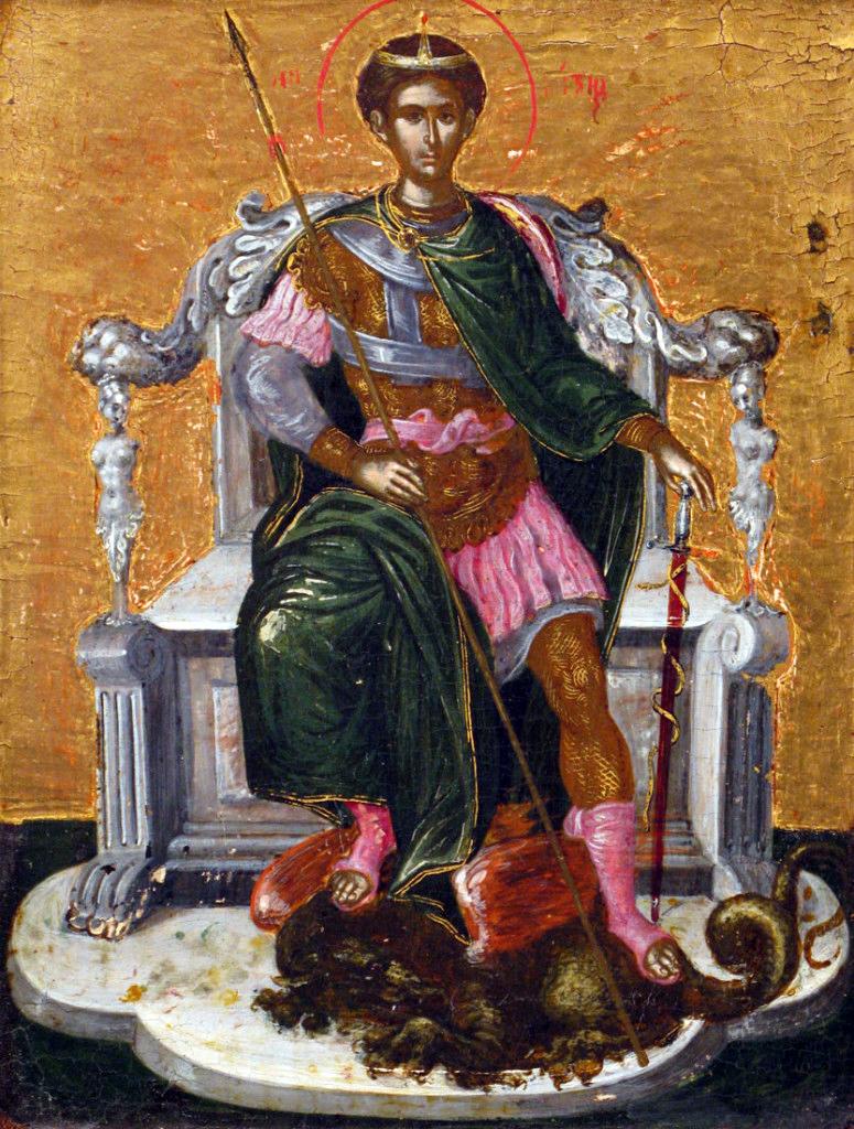 Domínikos Theotokópoulos detto El Greco, San Demetrio, 1565-66