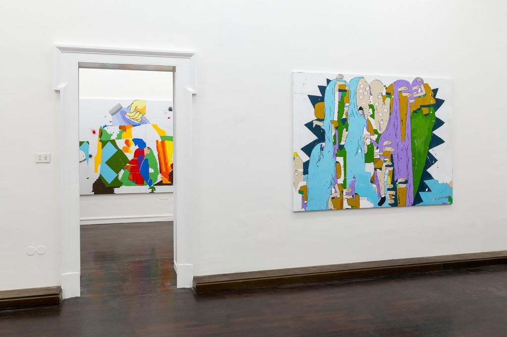 Dustin Pevey – Deep Ass Thoughts - Galleria Annarumma, Napoli 2015 - photo Danilo Donzelli