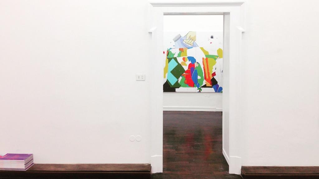 Dustin Pevey – Deep Ass Thoughts - Galleria Annarumma, Napoli 2015 - photo Eleonora Angela Maria Ignazzi