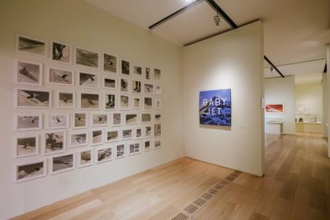Ed Ruscha – Mixmaster - veduta della mostra presso la Pinacoteca Agnelli, Torino 2015 - photo © Andrea Guermani