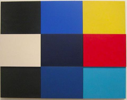 Ellsworth Kelly, Méditerannée, 1952, Tate Modern