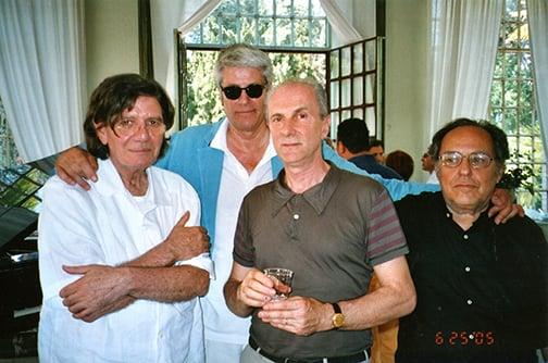 Ettore Spalletti, Pio Monti, Massimo Minini, Vettor Pisani, 2005