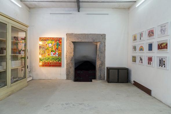 Federico Solmi – The Great Dictator – veduta della mostra presso Dino Morra Arte Contemporanea, Napoli 2015 - photo Danilo Donzelli