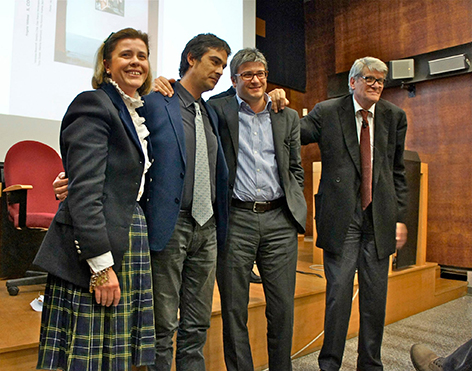 Francesca, Nicola, Gino e Pio Monti - I martedi critici, 15 aprile 2014