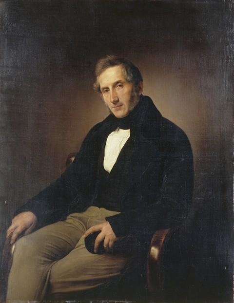 Francesco Hayez, Ritratto di Alessandro Manzoni, 1841 - Milano, Pinacoteca di Brera