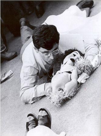 Giuseppe Desiato, performance, 1975