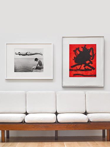I tuffatori di Nino Migliori in catalogo da Sotheby's